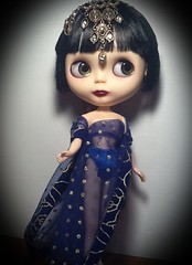 Blythe-a-Day Sept.#22:Sapphire;#25 Underneath It All;#29: Yesteryear: LaVern