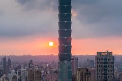 IMG_4643 (JIMI_lin) Tags: sunset 101 taipei 信義區 觀音山 大冒險 虎山峰