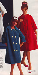 Sears 64 fw blue and red robes (jsbuttons) Tags: winter fall clothing 60s buttons sears womens 64 catalog sixties 1964 vintagefashion