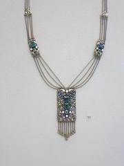 IMG_8062 (Akieboy) Tags: nyc newyorkcity silver gold necklace moma jewelry jewellery pearl amethyst gems tourmaline metropolitanmuseumofart sapphire peridot
