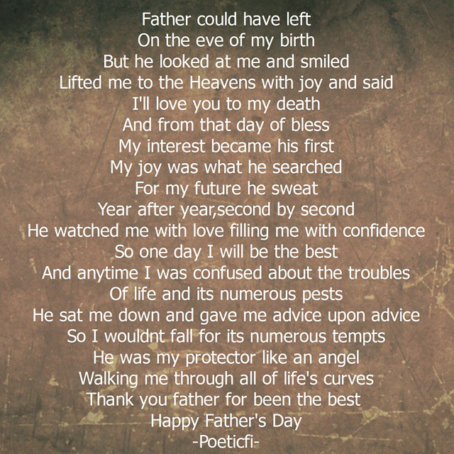 Thank you father Happy Fathers day.. #poem #poetscommunity #quotes #quotestoliveby #literature #songwriter #writersoninstagram #igpoets #instaquote #wordpress #poetrylovers #poetscommunity #prose #poetry #spilledink  #instamood #emotions #instawords #inst