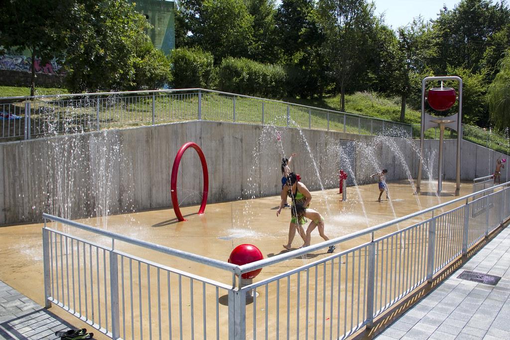 Zona lúdica de juegos acuáticos de Ongarai