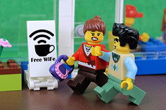 Free Wife???!!! What a typo! (Lesgo LEGO Foto!) Tags: lego minifig minifigs minifigure minifigures collectible collectable legophotography omg toy toys legography fun love cute coolminifig collectibleminifigures collectableminifigure typo cafe coffee restaurant wifi wife husband freewifi freewife