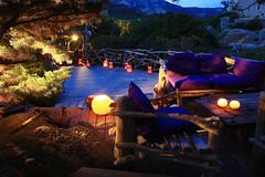 France, Corse du Sud (2A), Domaine de Murtoli, la crique, la terrasse (ledomainedemurtoli) Tags: eclairage domainedemurtoli corsedusud corse europe france horizontale lampion nuit