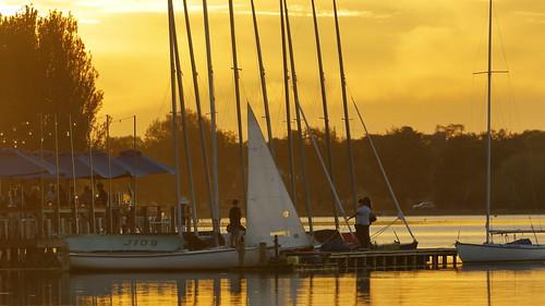 ballarat victoria australia lakewendouree lake yachts ballaratyachtclub water sunset