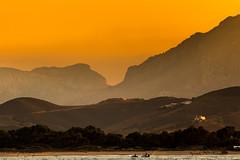 La nostalgie de l'été. (Bouhsina Photography) Tags: été sky jet montagne coucher soleil kabila mer plage bouhsina bouhsinaphotography canon 7dii ef70200 maroc tétouan tetuan couche iorange mediterannée