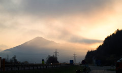 Beautiful morning in Austria (Norci9) Tags: kaprun austria österreich forest mountain fog