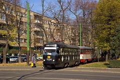 Tatra-Zug 1124/175 zwischen den Haltestellen Podgoria und Crisan (Frederik Buchleitner) Tags: 1124 1756 ar00157 arad ckdpraha ctparad havag halle linie3 romania rumänien strasenbahn streetcar t4 t4d tatra tram trambahn tramvai județularad