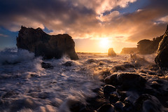 Chaos (mattymeis) Tags: california malibu el matador beach ca ocean pacific rrs matt meisenheimer nikon sunset sea stacks