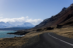 On the raod again !! (J-e-Y) Tags: iceland islande road mountain route montagne ocean ciel sky landscape alpha 6000 sony 30mm sigma nature outdoor trip march paysage hiver winter neige snow