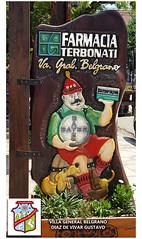 Villa general Belgrano farmaca Terbonati - Diaz De Vivar Gustavo (Diaz De Vivar Gustavo) Tags: villa general belgrano farmaca terbonati diaz de vivar gustavo bayer aspirina madera cartel vacaciones turistico turismo