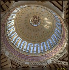 Mercado Central Dome (GarryBoggan) Tags: valencia spain espanya españa nikond600 garryboggan mercadodecolón dome roof