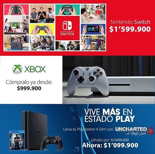 Disfruta de lo mejor en videojuegos encuentra en @compudemano toda la variedad que estás buscando #cadadiamejor. Visita nuestra tienda o llámanos Bogotá: (1) 381 9922 - Medellín: (4) 204 0707 - Cali (2) 891 2999 - Barranquilla: (5) 316 1300 - Pereira: (6)