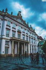 Bratislava - Slovakia (TLMELO) Tags: man work statue bratislava slovakia street floor women talk slovensko bratislavskýhrad clock tower michalskábrána child boy humor bad angry portrait