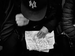 Which way should I go? (danielsteuri) Tags: danielsteuri switzerland world streetphotography olympus omd em10 mft microfourthird 14mm 45mm blackwhite bw candid moments moment creativecommons explore scout bestcamera primelens portrait scene scenery strassenfotografie fotografie city snap photography street unposed crop streetmonkey flowingones