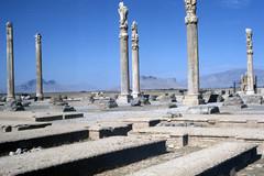Found Photo - Iran - Persepolis - Archeological Site 03.tif (David Pirmann) Tags: iran ruins archeology persia persian unesco worldheritage xerxes parsa takhtejamshid achaemenid dpfoundphotoasia1976 persepolis
