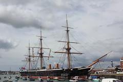 IMG_2135 (Skytint) Tags: hmsvictoria hmswarrior docks portsmouth hampshire england 2012