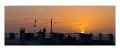 Paris Sundown (johannesotte84) Tags: paris mont martre view sun down france europe watch eiffel tower bird otte canon