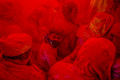 The Stare (ayanava21) Tags: india holi festival streetphotographers streetphotography street color children