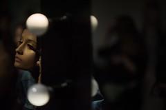 last touches... (f_lynx) Tags: d700 afdcnikkor1052 flynx girl model mirror fun makeup face dark lowkey shadows lights glitter portrait fashionweek fashion backstage mercedesbenzfashionweekrussia moscow russia hand brush eye eyelash silhouette 2x3