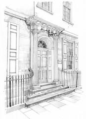 Doorway, Bathurst House, 86 Micklegate, York