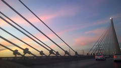 Riyadh Bridge (blanco.basha) Tags: lumia1020 riyadh bridge amazing sunrise