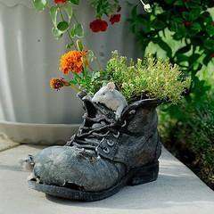 Planter-old boot_lushome_com (DougBittinger) Tags:
