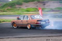 BMW 5-Series (B&B Kristinsson) Tags: iceland motionblur ba panning drift akureyri blaklbburakureyrar