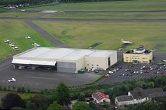 EIWT - Dublin Weston Airport (eigjb) Tags: ireland dublin building tower june photo airport control hangar terminal aerial apron helicopter runway beech hughes baron weston buccaneer 2014 s2b 269c eiwt n65mj xv864 n8990f