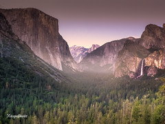 Tunnel View (at night) (Motographer) Tags: california usa landscape waterfall twilight tunnel olympus falls yosemite omd em1 motographer mzuiko 1240mmf28pro fotografikartz motograffer