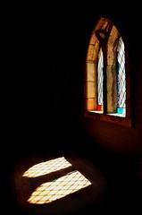 Montsalvat [Explored] (phunnyfotos) Tags: windows light church window architecture nikon australia melbourne chapel victoria vic leadlight eltham montsalvat melburnian d5100 nikond5100 phunnyfotos