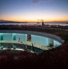 The Oval (Chimay Bleue) Tags: sunset sea house art japan architecture island hotel design modernism inland oval modernist naoshima ando tadao benesse artsite bennesse
