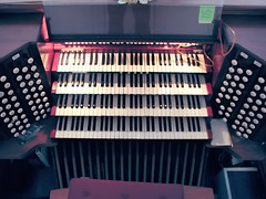 The First Baptist Church Organ (*Checco*) Tags: wood old musician music usa white black classic church metal america keys religious temple wooden keyboard colorado pattern play cathedral antique traditional religion pipe piano chapel row denver player christian equipment melody indoors organ musical step harmony sound instrument classical christianity manual spirituality musicalinstrument classicalmusic console liturgy pipeorgan stops organist firstbaptistchurch sacredmusic