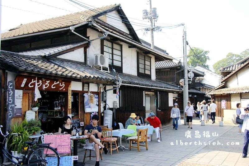 鞆之浦.廣島福山景點(有著江戶時代歷史建築痕跡的純樸小漁港)