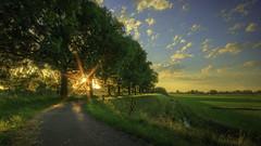 Zeedijk , Doeveren (Patrick Mortko) Tags: sunset sun pentax hdr k3 sigma1020mmf456 doeveren