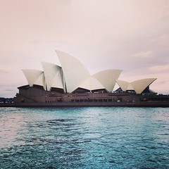 Up close and personal with the Opera House from the Manly Ferry. Pretty unbelievable. (Lauren_Hannah) Tags: june 14 2014 1006pm