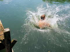 Summer Vacation Begins!!!! (no more teachers, no more books!) (JCalabi) Tags: swimming pond action enzo splash summervacation