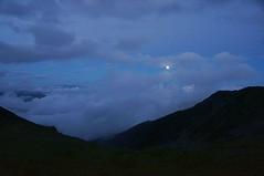 Luna plina la Iezer