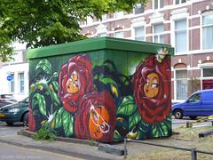 Den Haag : I Love Hiphop 2014 (Akbar Sim) Tags: holland netherlands graffiti nederland denhaag thehague agga mrwany akbarsimonse haagsgraffitiplatform akbarsim trandformatorhuisje ilovehiphop2014 ilovehiphopgraffititour2014