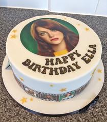 Emma Stone Cake