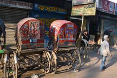 Bangladesh - Rickshaws (blackthorne57) Tags: bangladesh cyclerickshaw rickshawart rickshawhood