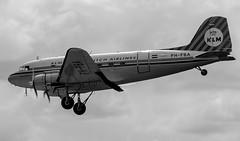 PH-PBA Douglas DC-3 Dakota KLM_MG_5354 (Jonathan Irwin Photography) Tags: klm douglas dc3 dakota durhamteesvalleyairport phpba phwxc