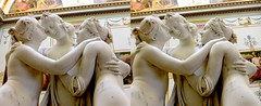 The Three Graces - 3D Cross-View (3dstereo) Tags: eye three stereoscopic 3d view cross hermitage graces canova stereophotograph