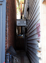 That's a lot (Grandpaparazzi) Tags: toronto sign buildings alley apartment number danforth narrow greektown
