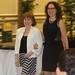 Gail Schlacter escorted by her daughter Sandy Hirsch