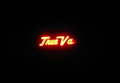 True Va... (Eyellgeteven) Tags: light red broken sign night hardware hardwarestore store letters nighttime lettering burnedout truevalue lightedsign truevaluehardware eyellgeteven trueva