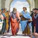 Raphael, Plato and Aristotle (close)