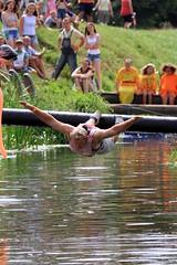 Crazy Raft Race _ 118 (lens buddy) Tags: uk england wet somerset rafting raft watersports fancydress cameraclub summergames langport thorney canoneosdigital crazyrafting lowlandgames2014