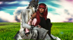 .:{PawsPhotography}:. Winter.Commission.Five (Mrs. Knightly) Tags: life girl female sl pony secondlife second ponygirl