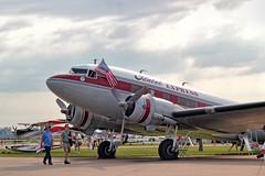 DC-3 (Ray Cunningham) Tags: show wisconsin airport experimental aircraft aviation air regional association flyin eaa oshkosh airventure 2014 wittman